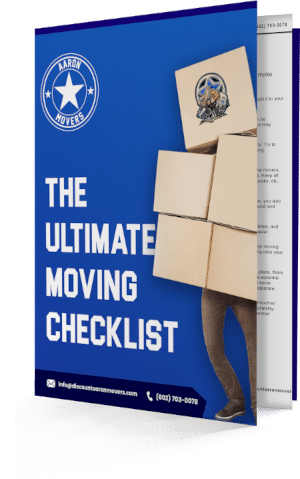 The ultimate moving checklist ebook cover image